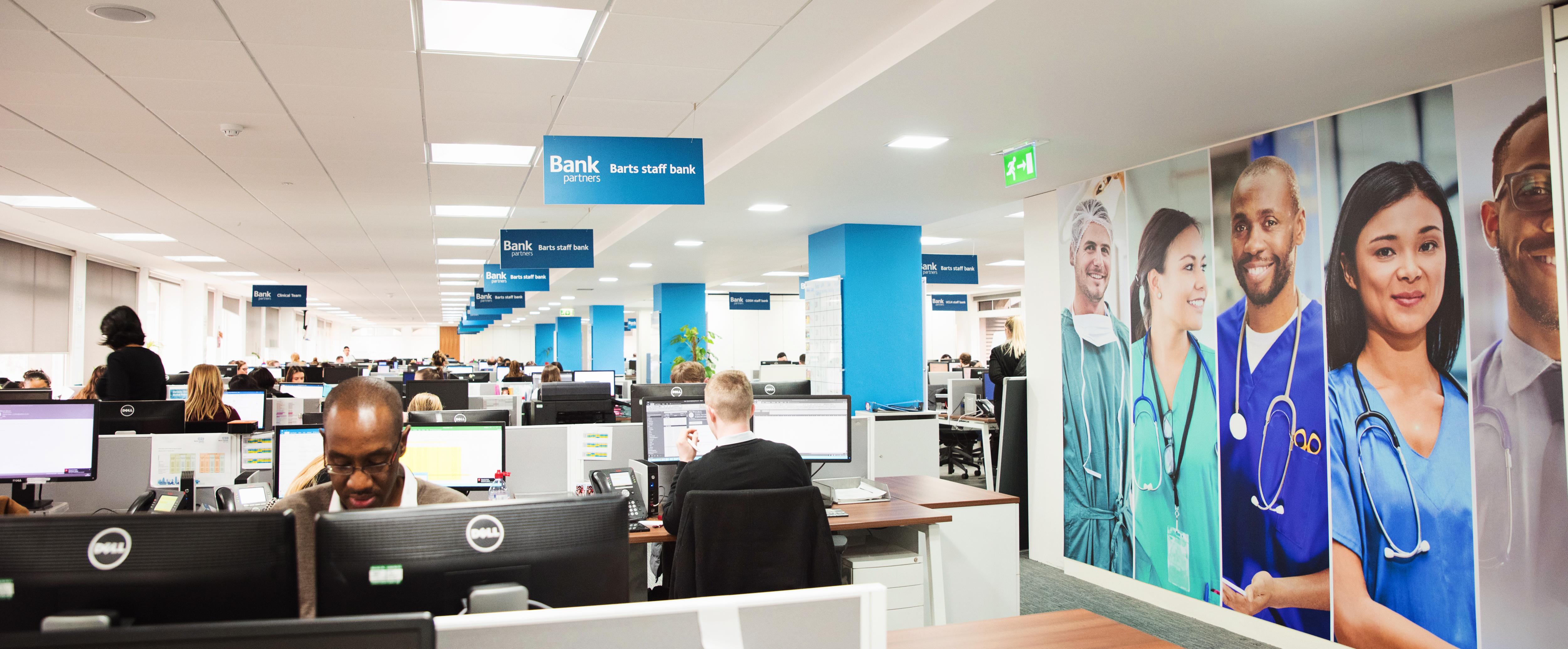 Bank staff bank