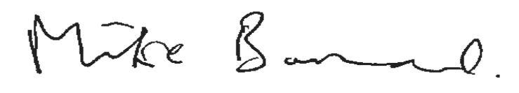 Mike Barnard signature